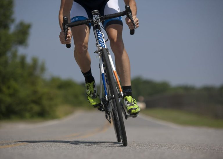 Die Muskeln, die zum Radfahren verwendet werden